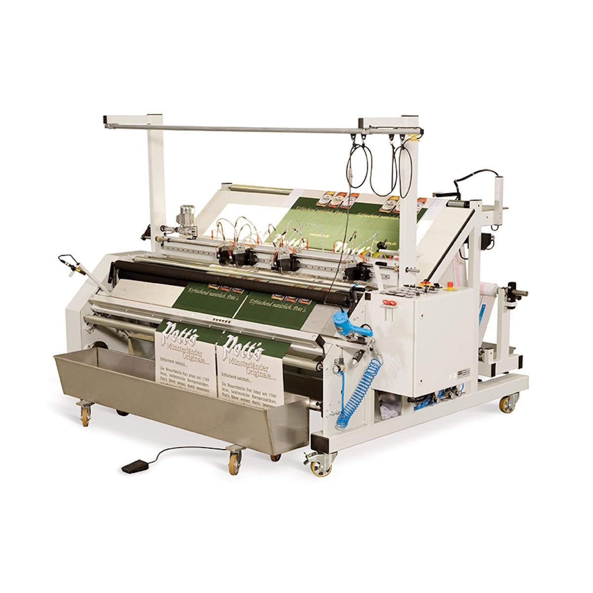 Salsa Length & Cross Cutting Machine